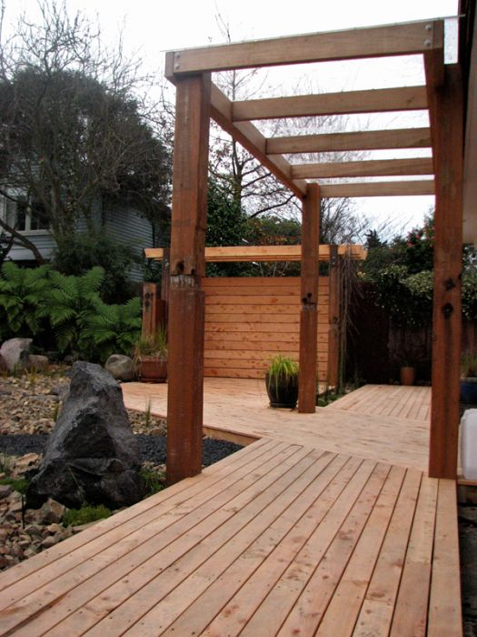 Design gallery gunn landscape design for Japanese decking garden