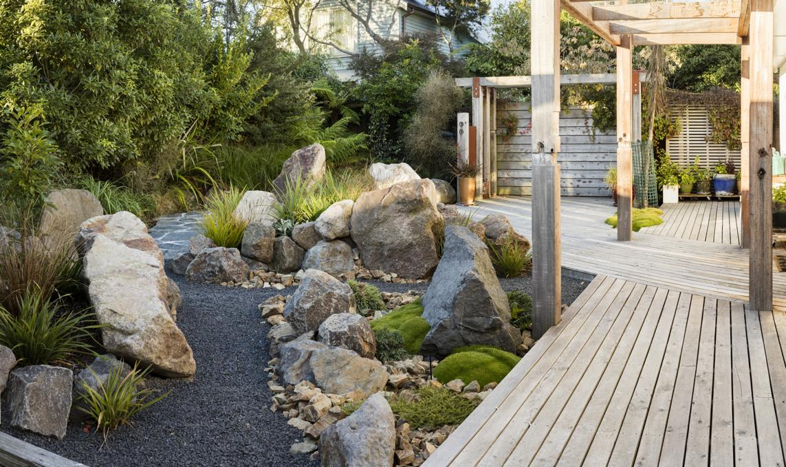 Design gallery gunn landscape design for Native garden designs nz