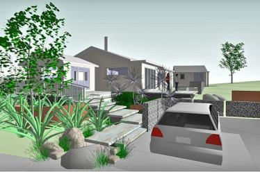 Location for Gunn design landscape architecture christchurch