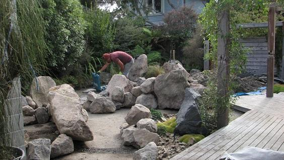 central-christchurch-garden-design-large-boulders.jpg | Gunn ... on trees in garden design, gravel in garden design, boulders in landscape,